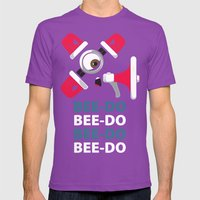 Bee-Do Bee-Do Mens Fitted Tee Ultraviolet SMALL