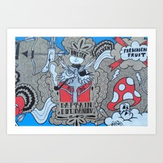 FF:Body Part II Art Print