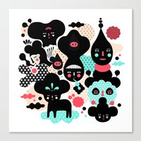 We make a nice team Canvas Print