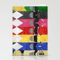 Mighty Morphin Power Ran… Stationery Cards