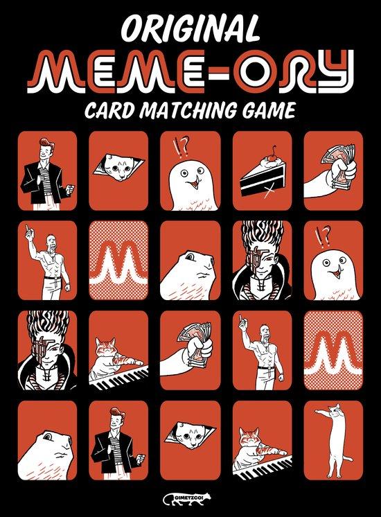 the Original Meme-ory matching game! Art Print