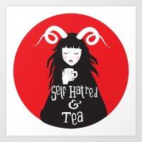 Bitter Tea Art Print