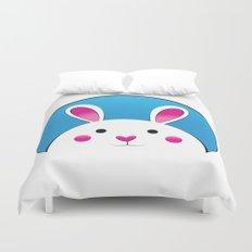 Chubby Bunny Duvet Cover