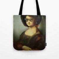 Mona Lisa Boogie Tote Bag
