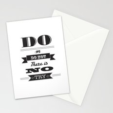star wars too Stationery Cards