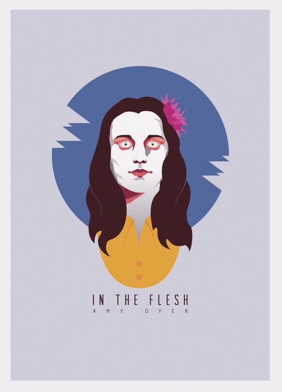 In The Flesh - Amy Dyer Art Print