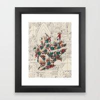 Watermelon Man 3 Framed Art Print