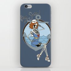Skelly the Sailor Girl iPhone & iPod Skin