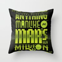 A Million To One Throw Pillow