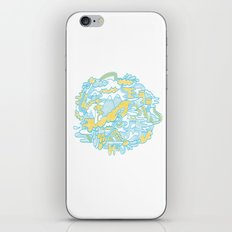 Spaghetti Mountain iPhone & iPod Skin