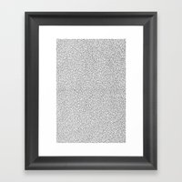 Keys Allover Print Framed Art Print