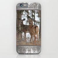 White-Tailed Deer in Winter iPhone 6 Slim Case