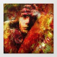 Spirits Torment (With Ganech Joe) Canvas Print
