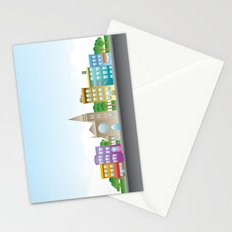 Park Slope Skyline (Color) Stationery Cards