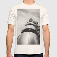 Lloyds Building Mens Fitted Tee Natural SMALL