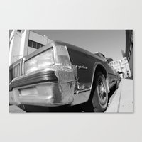 Big American Car Canvas Print