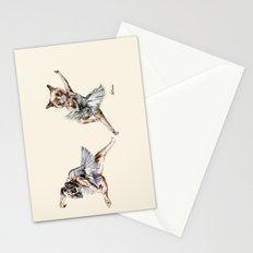 Hipster Ballerinas - Dog Cat Dancers Stationery Cards