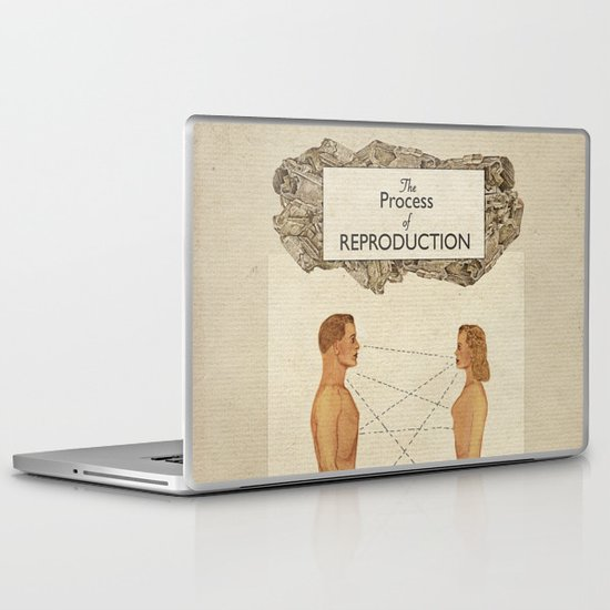 The Process of Reproduction I Laptop & iPad Skin