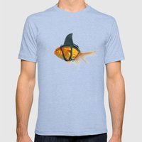 BRILLIANT DISGUISE -2 Mens Fitted Tee Tri-Blue SMALL