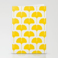 Ginkgo Leaf Stationery Cards