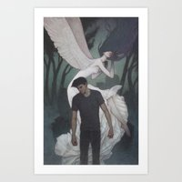 Shade of Night Art Print