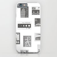 iPhone & iPod Case featuring USA, Canada, London, The Moon by Chris Pecora