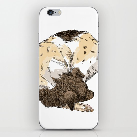 Sleeping Dog #002 iPhone & iPod Skin