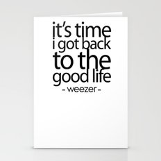 The Good Life - Weezer Stationery Cards