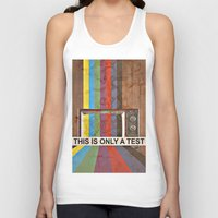 This Is Only A Test Unisex Tank Top