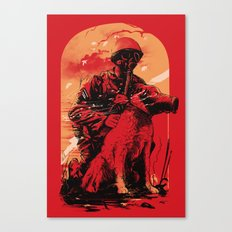 Dogs Of War Canvas Print