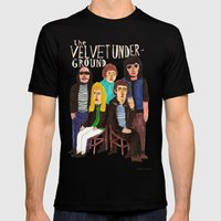 The Velvet Underground Mens Fitted Tee Black SMALL