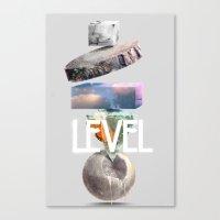 Level Canvas Print