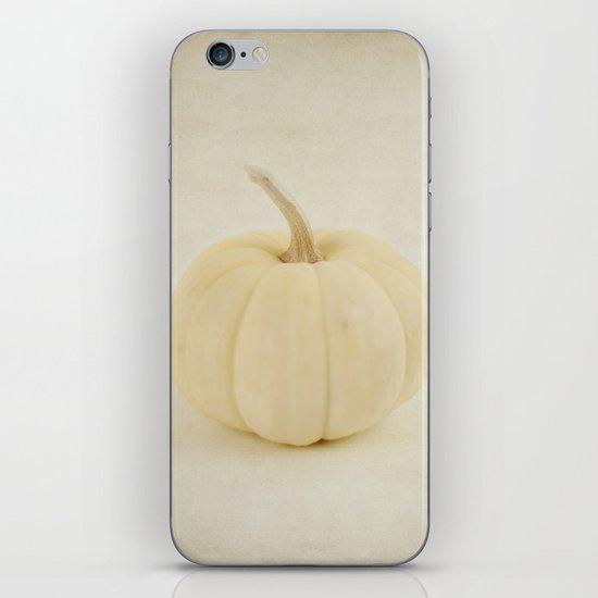 Baby White Pumpkin iPhone & iPod Skin