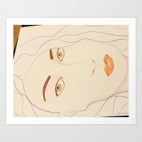 Goddess III Art Print