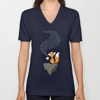 Fox Tea Unisex V-Neck