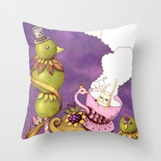 Neverland Throw Pillow