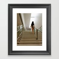 Steps Framed Art Print
