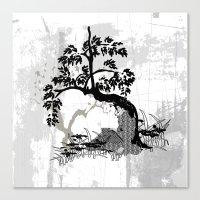 Stille  - Silence Canvas Print