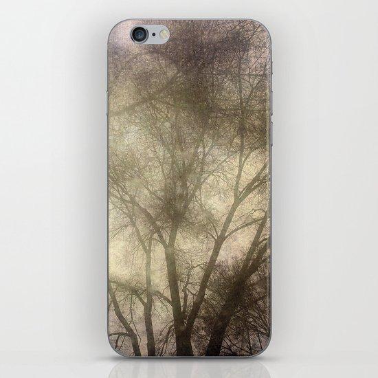 Interlocking trees iPhone & iPod Skin