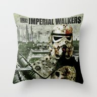 Imperial Walking Dead Throw Pillow