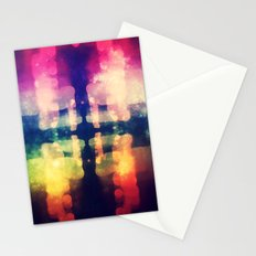 Bokeh Prism  Stationery Cards