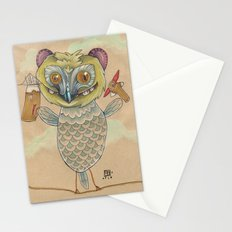 GINGERBREAD BIRD Stationery Cards