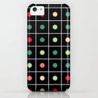 Dotted Grid iPhone 5c Slim Case