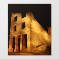 Death Valley Ruins Canvas Print