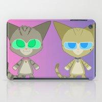 Cat Twins (Clara and Clarence Cat) iPad Case