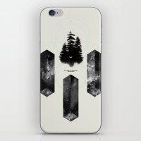 PILLARS OF CREATION iPhone & iPod Skin