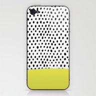 Polka Dot Rain Dip iPhone & iPod Skin