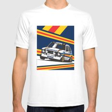 Ford Escort RS2000 White SMALL Mens Fitted Tee