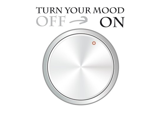Turn Your Mood 'ON' Art Print