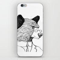 Bearing It All  iPhone & iPod Skin
